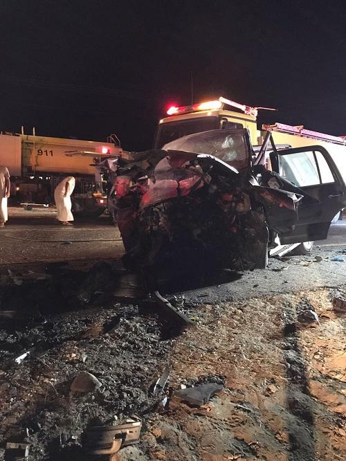 الباحة: مصرع 7 أشخاص و إصابة 5 في حادث مروري