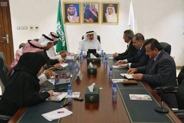 المشرف على مركز الملك سلمان للإغاثة يلتقي مسؤولين في برنامج الغذاء العالمي