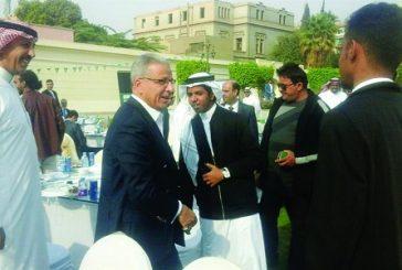 السفير قطان: عقد لقاءين مفتوحين أسبوعياً لحل مشاكل السعوديين في مصر