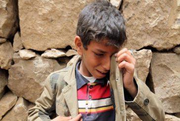 تحالف رصد: مقتل وإصابة أكثر من الفي طفل برصاص المليشيا في تعز خلال خمسة اشهر