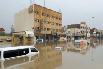 """الدفاع المدني: استبعاد 203 مركبات من تعويضات """"أمطار جدة"""""""