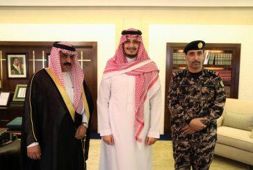 نائب أمير الشرقية يستقبل قائد قوة أمن المنشآت المكلف بالمنطقة الشرقية