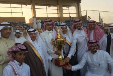 """""""بنت الشيخ"""" تحقق أول كأس في سباق فروسية الخفجي"""