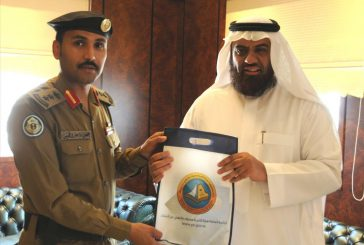 مدير فرع هيئة الأمر بالمعروف في الشرقية يستقبل قائد قوات أمن الطرق بالمنطقة