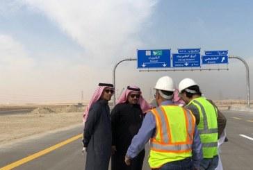 وزارة النقل تتفقد سير عمل مشاريع طرق المنطقة الشرقية والتي تنتهي في 2018