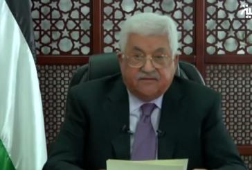 """""""عباس"""" يرد على قرار ترامب: يكافئ إسرائيل على التطهير العرقي"""