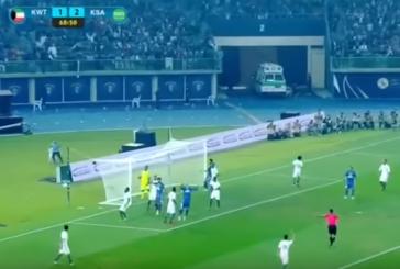 بالفيديو ..المنتخب السعودي يتغلب على الكويت في افتتاح خليجي 23