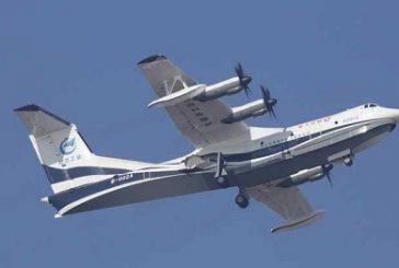بالصور.. الصين تختبر أكبر طائرة برمائية في العالم