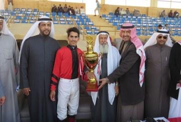 (قصه) تنتزع كأس الأمير سلطان بن محمد من ميدان فروسية الخفجي