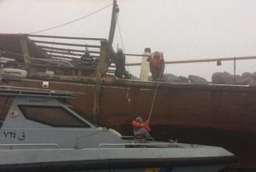 حرس الحدود ينقذ عائلة سعودية وأربعة بحارة علقوا في البحر بالمنطقة الشرقية