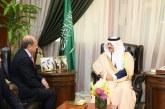 أمير الشرقية يستقبل سفير الجمهورية اليمنية لدى المملكة