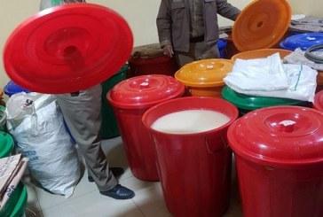 شرطة الخبر تضبط مصنع خمور يُديره رجلين وامرأتين من الجنسية الآسيوية