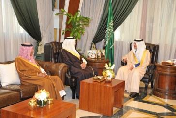 الأمير سعود بن نايف يستقبل رئيس الهيئة الملكية للجبيل وينبع السابق
