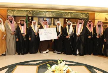 """الأمير سعود بن نايف  يدشن مبادرة """" مستقبلي"""" بلجنة الحزام الذهبي بالخبر"""