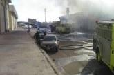 حريق بمستودع طبي بإدارة التموين والامداد بصحة الشرقية