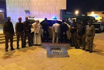 الرياض..ضبط وكراً لترويج الخمور محصنا بكاميرات مراقبة