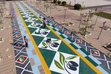 البريد السعودي يشحن 6 طن من زيت زيتون بمهرجان الزيتون بالجوف