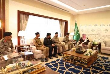 الأمير أحمد بن فهد يستقبل مدير شرطة المنطقة الشرقية