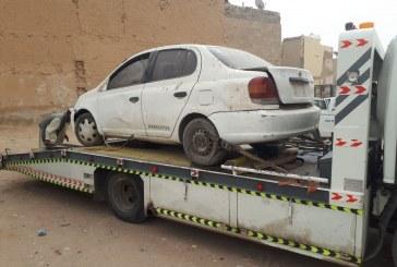 أمانة الرياض تزيل أكثر من 1500 مركبة مهملة من طرقات وشوارع المدينة