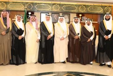 الأمير سعود بن نايف يستقبل أعضاء المجلس البلدي بالجبيل