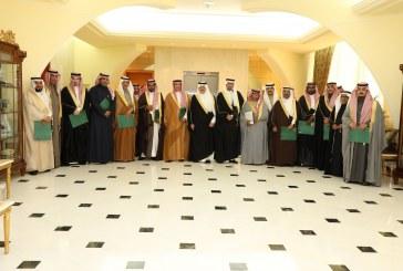 الأمير سعود بن نايف يكرّم الجهات المشاركة والداعمين لمهرجان ربيع النعيرية