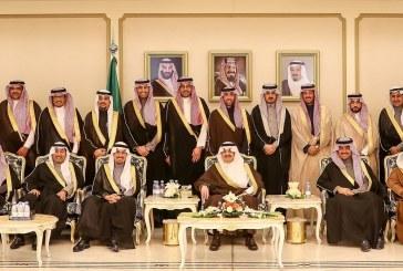 الأمير سعود بن نايف لرئيس وأعضاء مجلس شباب الأعمال:  العمل عبادة وشرف ومدعاة للفخر