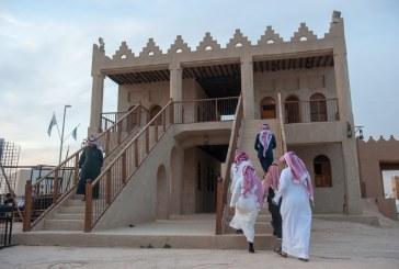 بالصور..بيت الشرقية في مهرجان الجنادرية 32 يستقبل زواره