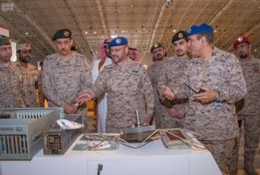 """""""الرويلي"""" يتفقد الاستعدادات لمعرض القوات المسلحة أفد 2018"""
