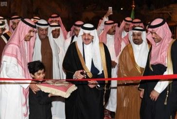 أمير المنطقة الشرقية يفتتح متحف الفلوة والجوهرة للتراث