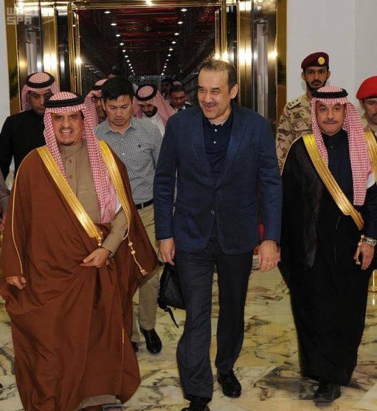 رئيس لجنة الأمن القومي بجمهورية كازاخستان يصل الرياض