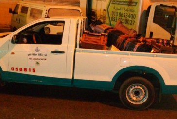 بلدية الخبر تصادر أكثر من 650 كرتون خضار