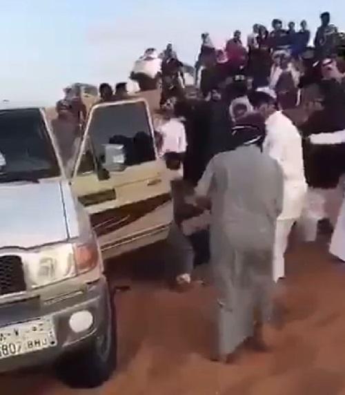 6 إصابات في مشاجرة بالدلم ( فيديو )