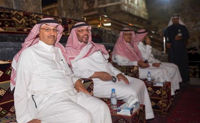 رئيس سابك والداعية الجبيلان في زيارة لقرية الباحة التراثية بالجنادرية