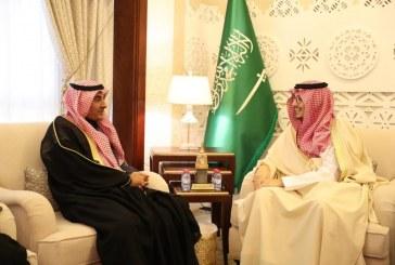 الأمير أحمد بن فهد يستقبل معالي نائب وزير التعليم