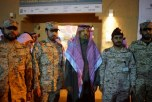 بالصور ..وزير الحرس الوطني يزور مهرجان الجنادرية ويتفقد الأجنحة المشاركة