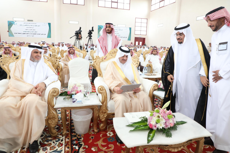 أمير المنطقة الشرقية يدشن 24 مشروعا تعليميا ويشهد توقيع التعليم عدد من الشراكات