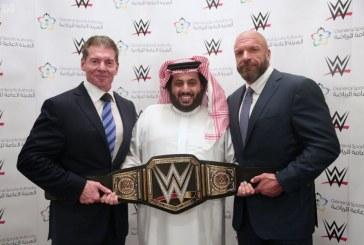 رئيس هيئة الرياضة يوقع اتفاقية مع WWE لإقامة منافسات المصارعة