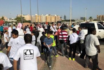 800 طالب من مدارس الخبر يشاركون في برنامج المشي الشهري الذي نظمته جمعية السكر بالشرقية
