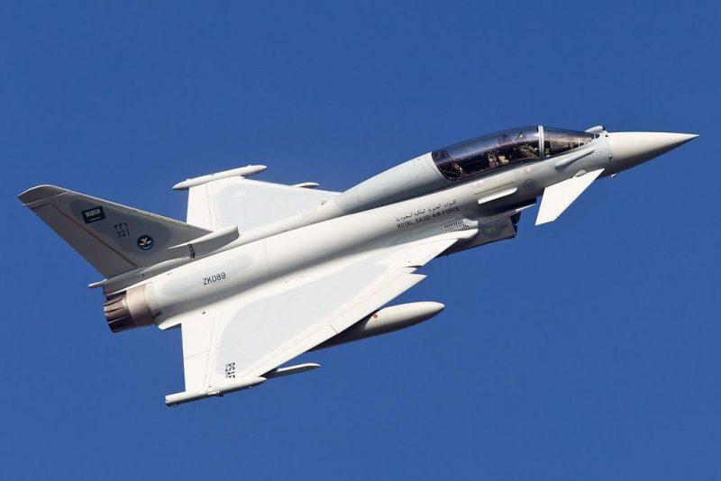 """48 مقاتلة """"تايفون"""" تنضم للقوات الجوية السعودية.. قريباً"""
