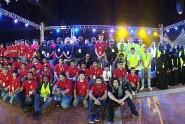 """أكثر من 2500 ساعة تطوعية قدمها أعضاء نادي الجبيل التطوعي في """"أطفالنا مستقبلنا"""""""