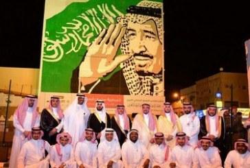 أمير منطقة القصيم يدشن جدارية سلمان الحزم