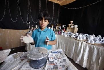 مهرجان الساحل الشرقي يكتشف الأطفال الموهوبين في الرسم والتلوين