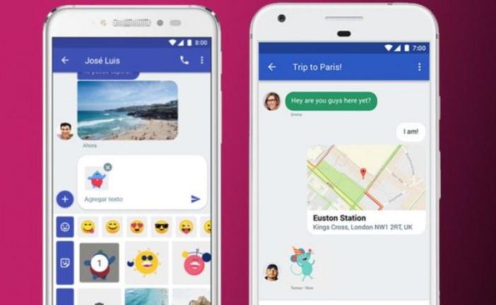 جوجل تطلق خاصية شات كبديلا لنظام الرسائل SMS