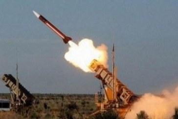 """""""الدفاع الجوي"""" يعترض صاروخاً بالستياً أُطلق باتجاه جازان"""