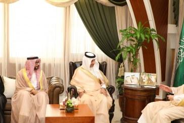 الأمير سعود بن نايف يستقبل معالي رئيس مجلس إدارة الهيئة العامة للترفية