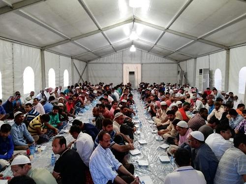 """إسلام ٨٠ وافداً بمخيم """"هداية"""" الرمضاني بالخـُـبر"""