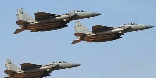 غارات مكثفة على مواقع الحوثيين في الحديدة