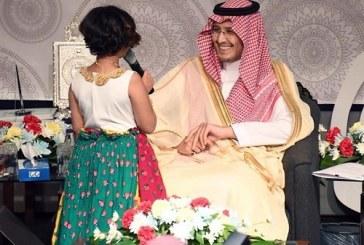 طفلة السكري توجه سؤالا لنائب أمير المنطقة الشرقية، ماذا قالت؟