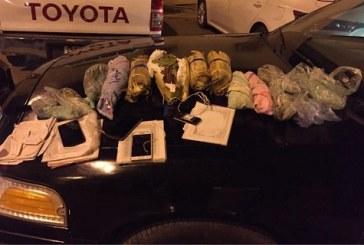 بالصور.. دوريات الأمن بجازان تضبط كميات من المواد المخدرة والذخيرة