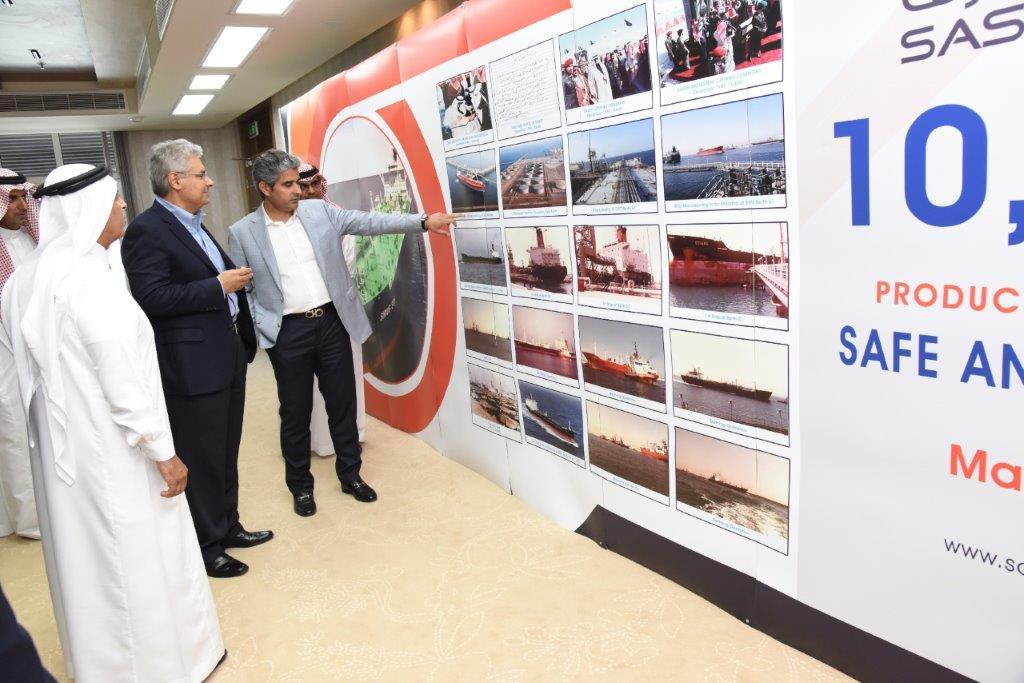 شركة ساسرف تكمل شحن ٤٢٠ مليون طن متري ومناولة ١٠،٠٠٠ سفينة بسلامة وبدون حوادث